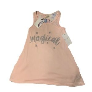 """Jessica Simpson pink and Glitter """"Magical"""" Top - 4"""